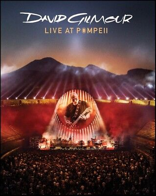 DAVID GILMOUR (2 DVD) LIVE AT POMPEII ( PINK FLOYD ) ALL Region NTSC *NEW*