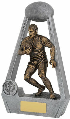NEW Rugby Trophy Bling 210mm Rugby Trophies Sport Sports Award