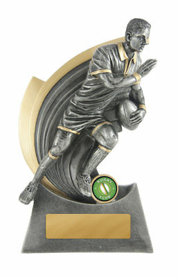 NEW Rugby Trophy Kaboom 225mm Rugby Trophies Sport Sports Award
