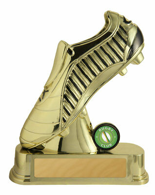 NEW Rugby Boot Gold 170mm Rugby Trophies Sport Sports Award