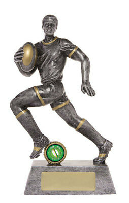 NEW Rugby Trophy Action 275mm Rugby Trophies Sport Sports Award