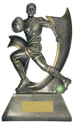 NEW Rugby Trophy Velocity Series 375mm Rugby Trophies Sport Sports Award