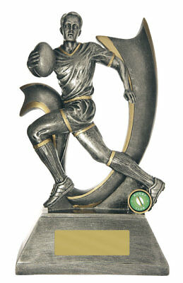 NEW Rugby Trophy Velocity series 325mm Rugby Trophies Sport Sports Award