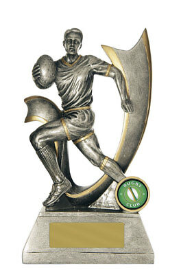 NEW Rugby Trophy Velocity Series 200mm Rugby Trophies Sport Sports Award