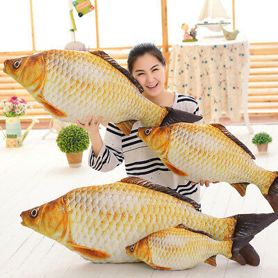 Simulation Carp Fish Plush Pillow Creative Pillow Plush Toys Staffed Soft Toy