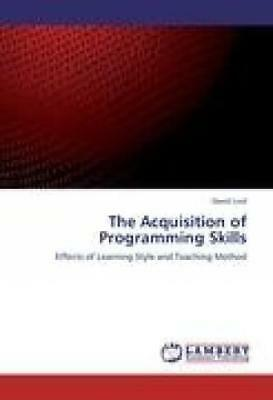 Lord, David: The Acquisition of Programming Skills