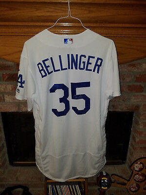 Los Angeles Dodgers Cody Bellinger Game Used - Game Worn Autographed Home Jersey