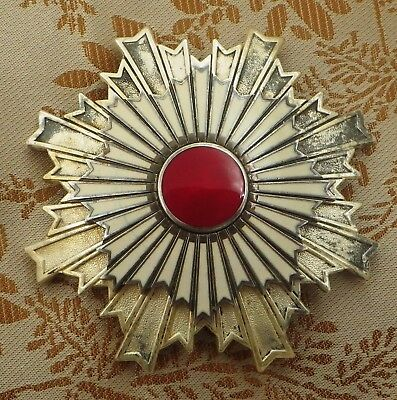 Japanese Breast Star Of Order Of The Rising Sun