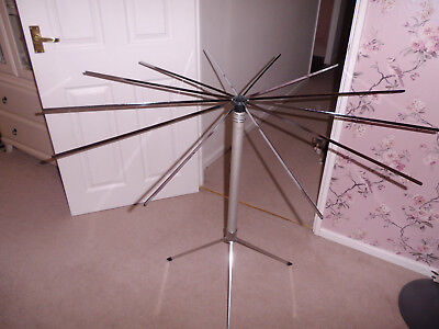 Vintage Retro Servis Clothes Airer Home Space Saver Retro Camping 50's 60's