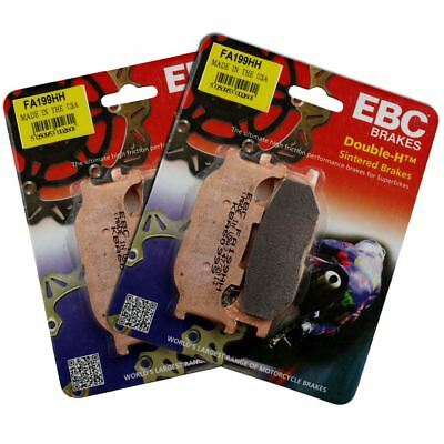 EBC BRAKES DOUBLE-H SINTERED  PART # FA199HH NEW//UNOPENED
