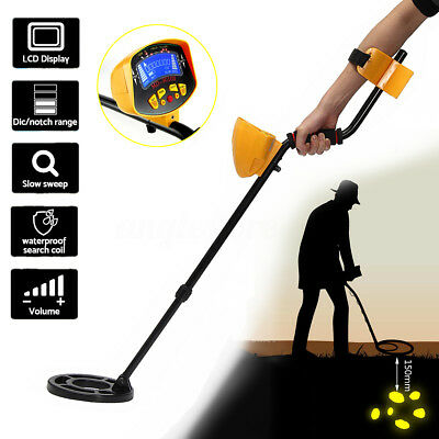 Metal Detector Searching Gold Digger Treasure Light Hunter Deep Sensitive Search