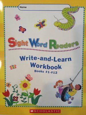 Sight Word Readers Write-and-Learn Workbook Books