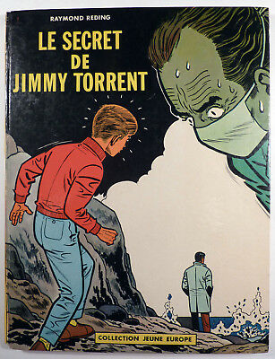Jari Le secret de Jimmy Torrent R. Reding Ed. du Lombard 1963 EO BE