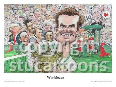 Andy Murray Cartoon By Griffin