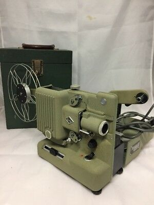 Vintage Eumig P8 Metal 1950's 8mm Cine Projector with Power Lead Untested
