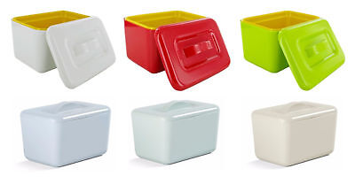 Zeal by CKS Melamine Butter Dish Insulated Kitchen Choice of Colours