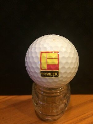 Fowler Logo Golf Ball, Old Vintage