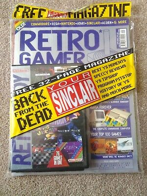 Retro Gamer Magazine Issue 9 with Cover Disk + FREE YOUR SINCLAIR Magazine