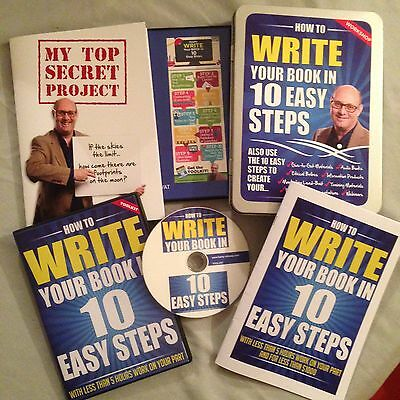 How To Write a book - Easy To Follow 10-step Process