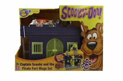 Captain Scooby Doo And The Pirate Fort Mega Set Includes Captain Scooby **HOT**