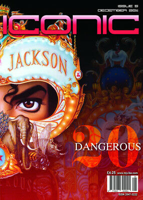 Michael Jackson Iconic Magazine Issue 5 (Second Cover)