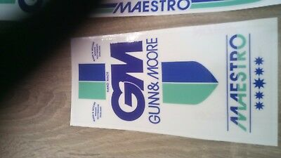 Very rare GM Maestro cricket bat stickers