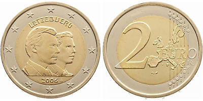"""Luxembourg 2006: """"25. Birthday Guilliaume"""" mint state"""