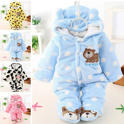Newborn Baby Clothes Sets Girls Boy clothes Romper Winter Outwear Outfits 0-12M