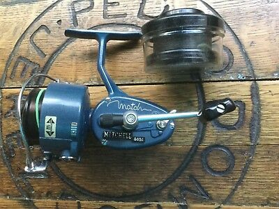 Garcia Mitchell Match 440A Vintage Fishing Reel With Cased Spare Spool