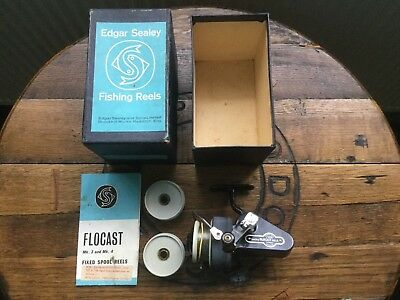 Boxed Edgar Sealey Mark 4 Flocast Vintage Fishing Reel