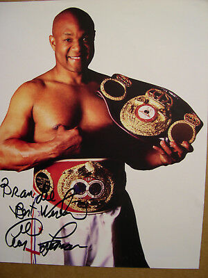 George Foreman Heavyweight Champion Boxing Autographed Signed 8X10 Photo W/coa