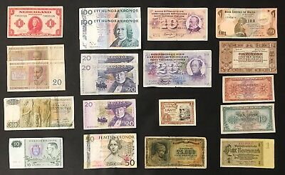 20 X Mixed European Banknote Collection - Europe.  (1388)