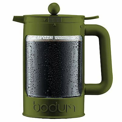 Bodum BEAN Cold Brew Ice Coffee Maker - Olive 12 Cups