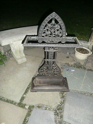 Antique Cast Iron Umbrella/Cane Stand
