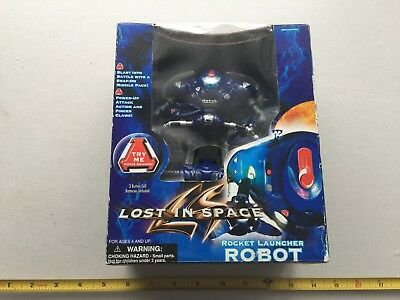 L048 Lost In Space Rocket Launcher Robot Trendmasters 1997