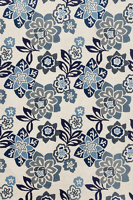 August Grove Dazey Blue/White Outdoor Area Rug