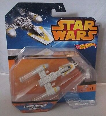 Hot Wheels  Star Wars Y Wing Fighter Gold Leader   NEU & OVP  Disney  MATTEL