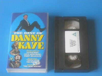 THE BEST OF DANNY KAYE (1993) Lucille Ball, Louis Armstrong MUSICAL COMEDY - VHS