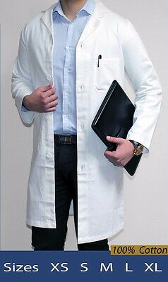 White Lab Coat - Unisex - 100% cotton
