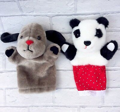 Sooty & Sweep Children's TV Show Soo & Sweep Hand Puppets
