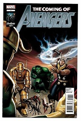 Coming of the Avengers #1 Marvel Comics 2012 Lee Kirby Avengers #1 Re-Colored