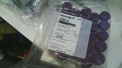 Lot of 25 New VWR 21008-178 50mL Clear Centrifuge Tubes with Screw Cap