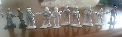 10 star trek aliens miniature licensed and not volcanian klingon ferengi romulan