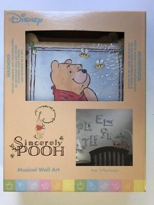 8 Piece Disney Sincerely Pooh Wall Art Decor New Sold As Is