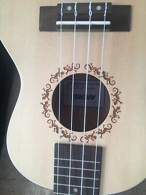 ukulele aiersi concert size in bag with tuner