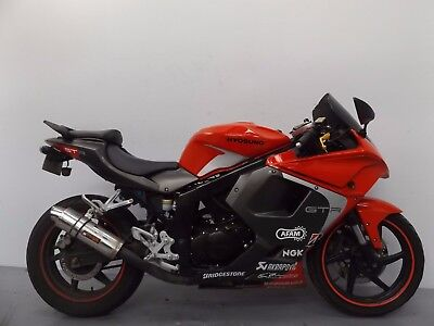 2016 Hyosung Gt125 Rc Damaged Spares Or Repair ***no Reserve***(13041)