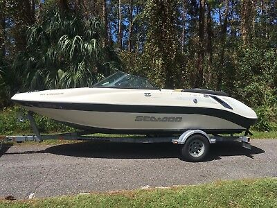 08 SEADOO / BRP 205 Utopia SE Twin 215 Supercharged 430 HP Jet-Boat 30 HOURS !!!