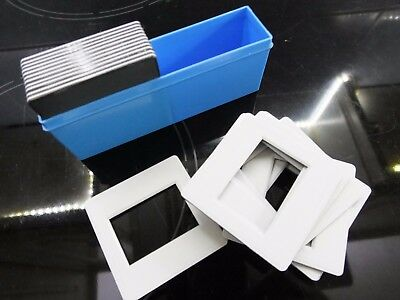 Minimum 20 x Glassless Slide Mounts - 35 mm Full frame 24 x 36 in storage box