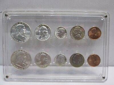 Set Of Two 1958 Us Mint Uncirculated Coin Sets