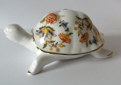 Aynsley Cottage Garden Tortoise Trinket Box
